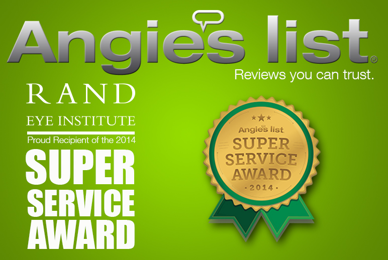 Angie's List | Rand Eye Institute