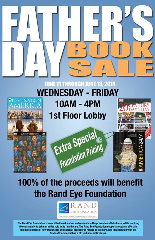 Father's Day Book Sale | Rand Eye Institute