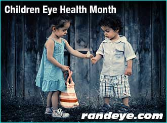 children-eye-health-month