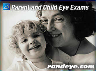 Parent and Child Eye Exams